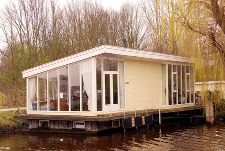 house boat Stock Photo - 2809498