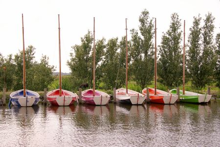 countrylife: Colorful sailing boats