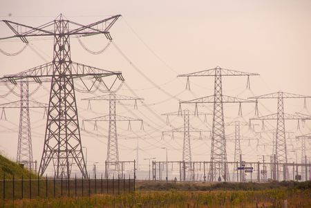 powerplants: High tention masts