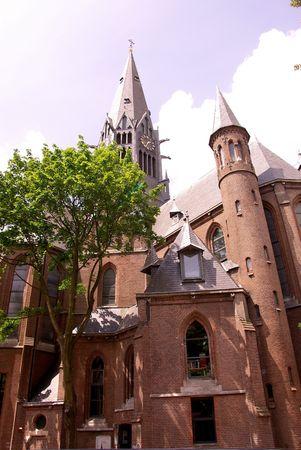 respectful: Vondel church in Amsterdam, the Netherlands