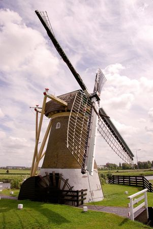 peace risk: A water wind mill