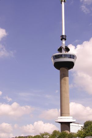 euromast: The euromast in Rotterdam, the Netherlands Editorial