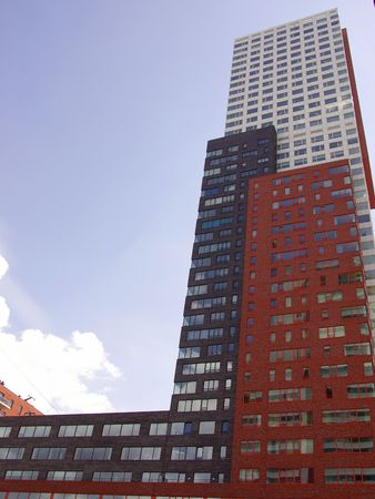 resident: The Montevideo building in Rotterdam, the Netherlands