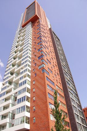 The Montevideo building in Rotterdam, the Netherlands