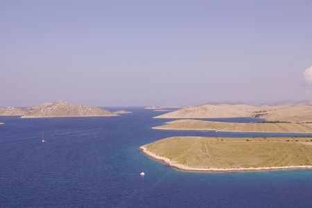 Islands in the national park Kornati in Croatia Stock Photo - 3424648