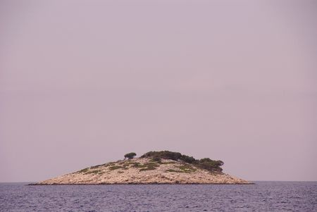 An island in the national park Kornati in Croatia Stock Photo - 3424650