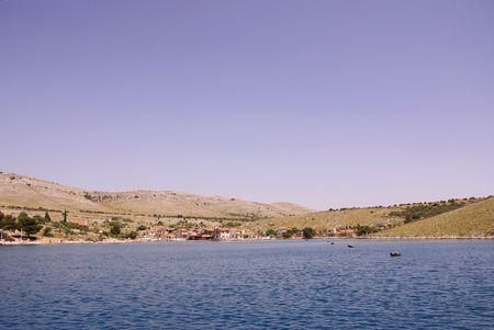 The village Vrulje in the national park Kornati in Croatia Stock Photo - 3424647