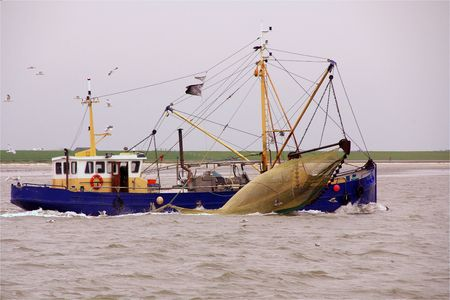 A shrips fishing boat photo