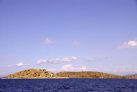 kornati national park: Islands in the Kornati National Park in Croatia