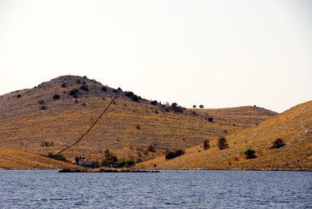 kornat: Croatian island Kornat in the Kornati national park Stock Photo