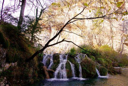 The Plitvice national park in Croatia photo