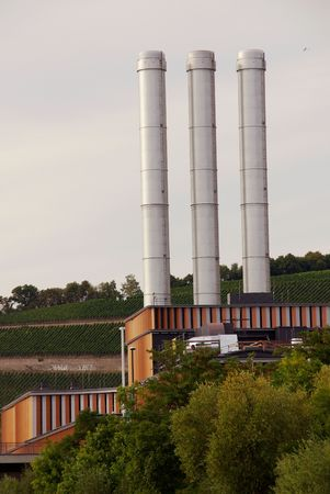 filthiness: Gas industry in wurzburg, Germany