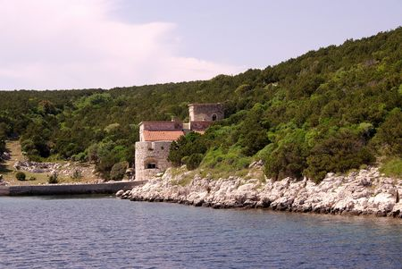luxery: A luxery villa at a bay in Croatia