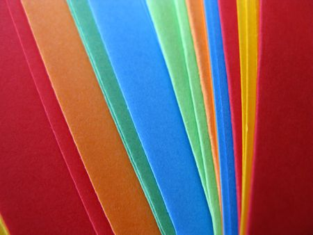 envelops: Colorful greeting cards and envelops