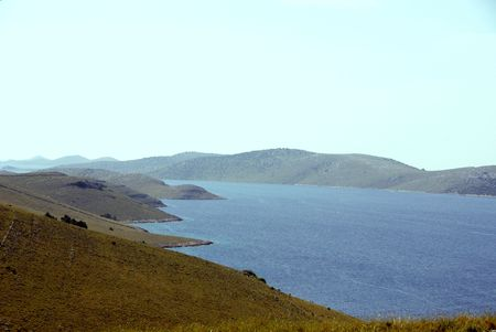 kornat: The Croatian island Kornat in the kronati national park