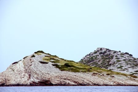 kornat: Thew Kornati national park in Croatia