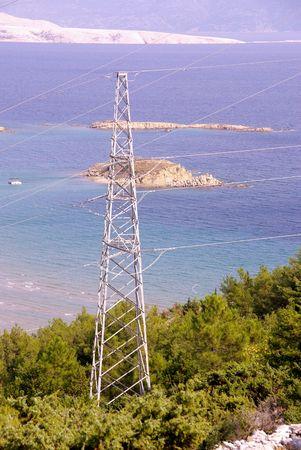 powerplants: High tension mast