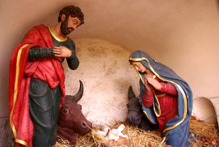 seasonality: Nativity scene