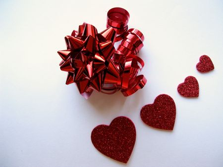 A Valentines day present Stock Photo - 4123054
