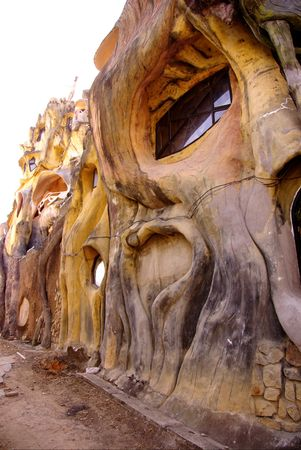 The crazy house (Hang Nga tree villa) in Dalat in Vietnam photo