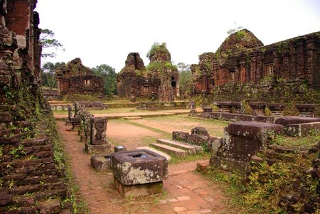 My son, an ancient complex of the Champa people in Vietnam