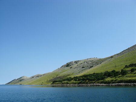 kornat: The coast of the Croatian island Kornat