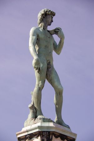 David of Michelangelo in Florence, Italy