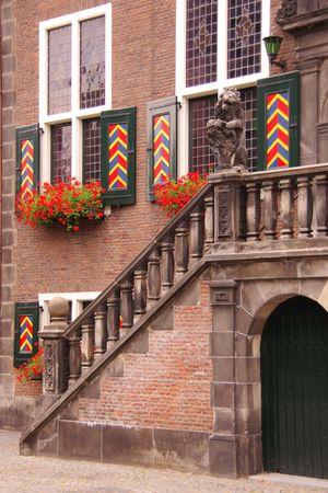 The old city hall of Vlaardingen in the Netherlands photo