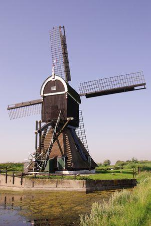 watermills: Hollow post mill
