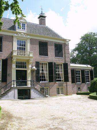 Groeneveld castle in Baarn in the Netherlands photo