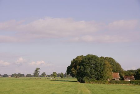 An agrarian landscape Stock Photo - 5507470