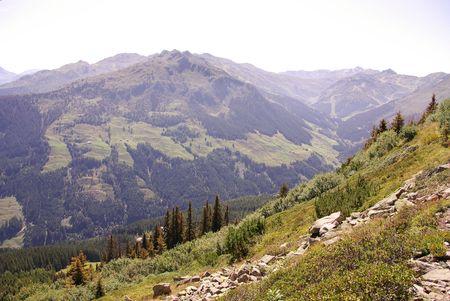 A landscape in the Austrian Alps Stock Photo - 5743982