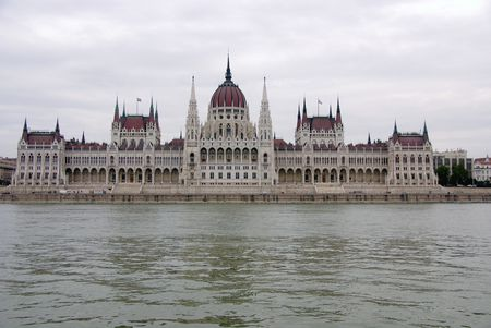 The parliament building in Budapest Stock Photo - 5770852