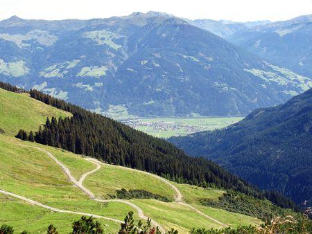 The Austrian Alps photo