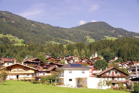 fuegen: A village in the Austrian Alps