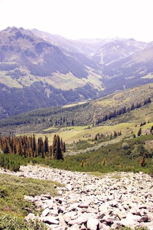 A landscape in the Austrian Alps Stock Photo - 5828957