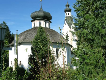 Church in Fuegen in Austria photo