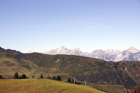 fuegen: View at the Austrian Alps