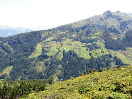 Landscape of the Austrian Alps Stock Photo - 5855419