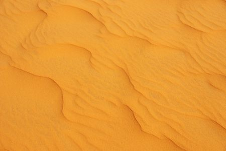 Patterns in the sand of the red dunes of Mui Ne in Vietnam Stock Photo - 5877448