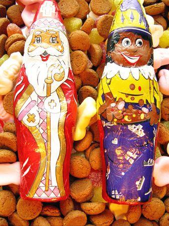 Chocolats for the dutch Sinterklaas celebration Stock Photo - 5931544