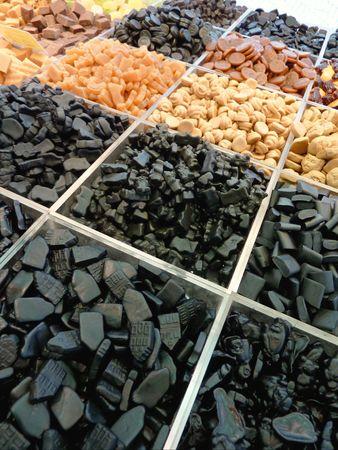 Liquorice extract at a market photo