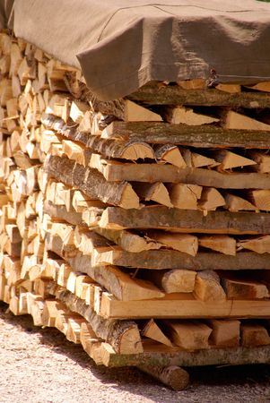 Wood for the fireplace Stock Photo - 7318211