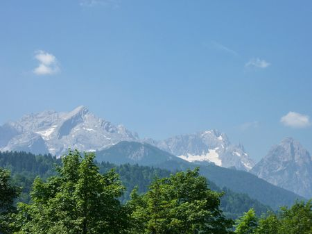 The alps in Bavaria in Germany Stock Photo - 7318005
