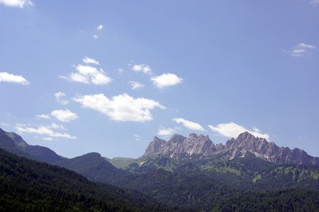The Dolomite mountains in the north of Italy Stock Photo - 7327649