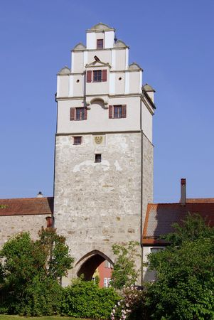 One of the defense towers of Dinkelsbuehl in Germany Stock Photo - 7336456