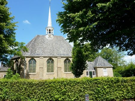 The church of den Bommel in the Netherlands Stock Photo - 7441790