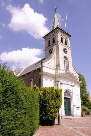The church of Ooltgensplaat in the Netherlands Stock Photo - 7447922