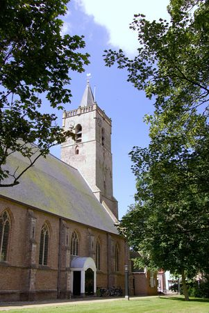 The church of Dirksland in the Netherlands Stock Photo - 7447942