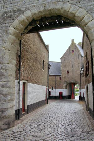 The Noordhavenpoort a town gate in the historical city Zierikzee in the Netherlands photo